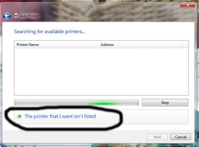 the printer that i want