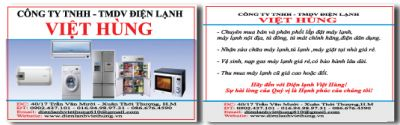 244 15 mau name card cong ty dien lanh